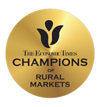 The Economic Times award for being Champions of Rural Market