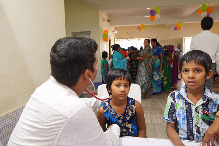 General Health Check-Up Camp at Khordha